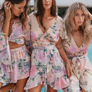 NWT Spell and the gypsy collective Lily mini dress